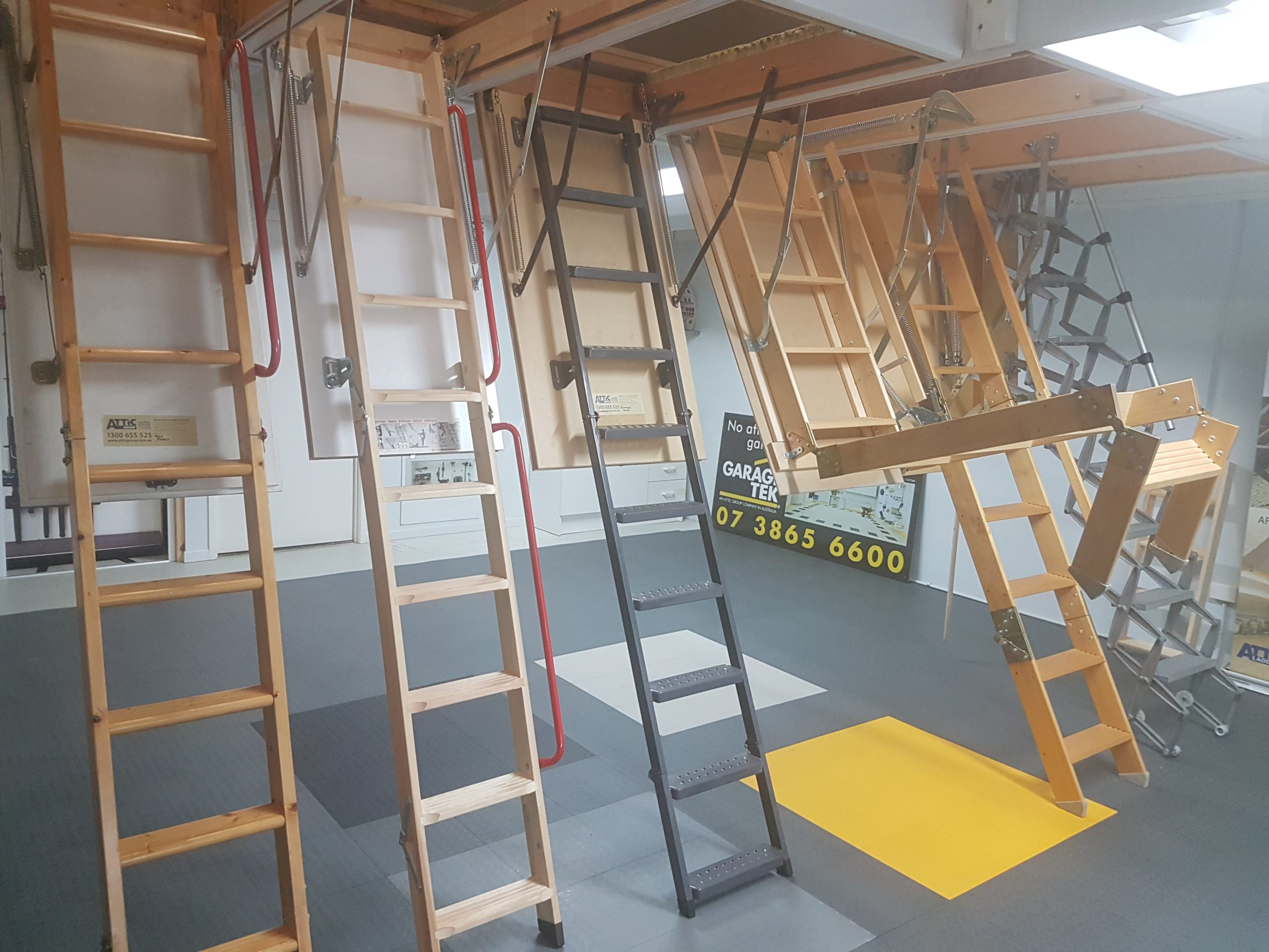 Pull Down Attic Ladders Why Choose Roof Space Renovators