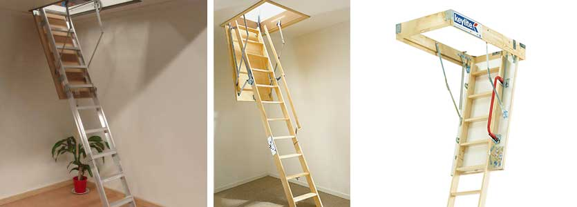 Roof Space Attic Ladders