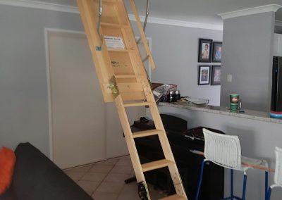 Timber Attic Ladder
